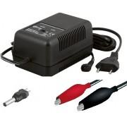 Carregador Baterias de Chumbo Automático 6 / 12VDC 1000mA/h