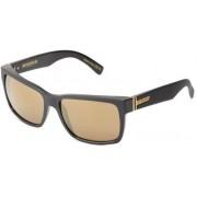Veezee, Inc. - Dba Von Zipper VonZipper Elmore Square Sunglasses,B.S. & Black Satin,One Size