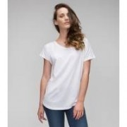 W's Loose Fit T White
