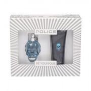 Police To Be confezione regalo eau de toilette 40 ml + doccia gel 100 ml uomo
