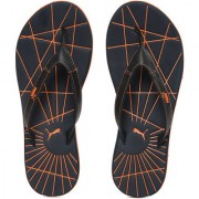 Puma Men Blue orange Webster Flip Flops