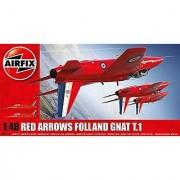 Airfix Red Arrows Gnat 1:48 Plastic Model Kit