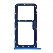 Avizar Bandeja de Substituição para Cartão Nano SIM Azul Metálica para Huawei P20 Lite