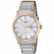 Timex Quartz Silver Dial Mens Watch-TW000X109
