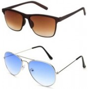 Bazarify Aviator Sunglasses(Multicolor)