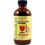 Ulei de Ficat de Cod Liver Oil (pentru copii) Childlife Essential Secom 237ml
