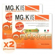 Pool Pharma Srl Mgk Vis Orange Zero Zuccheri 15 Bustine + 15 Bustine