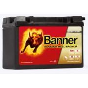 Banner Running Bull Backup 12V 9Ah autó akkumulátor 509 00 AUX 09 bal+