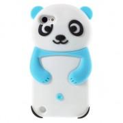 Rilakkuma Panda hoesje iPod Touch 5 6 silicone 3D wit blauw