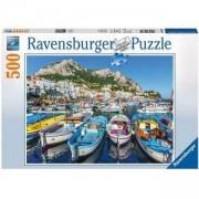 Пъзел Ravensburger 500 елемента, Цветно пристанище, 701106