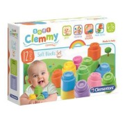 Clementoni Spa Clemmy 12 Soft Blocks Set