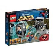 Lego Super Heroes Superman Black Zero Escape