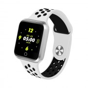 S226 1.3-inch IPS Color Screen Real-time Heart Rate Monitor Health Reminder Bluetooth 4.0 Smart Bracelet - Silver / White / Black