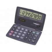 Casio Miniräknare Casio SL-210TE Antracit Display (ställen): 10 solcell, batteri (BxHxD) 120 x 12.5 x 73 mm