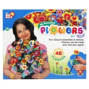 toyztrend creative my beautiful flower kit big for creative kids to make their own flowers from eva and make a flower vase