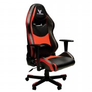 VX Gaming Comfort series Gaming Chair - Black Carbon / Red