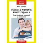 Evaluare si interventie psihoeducationala. Terapii educationale recuperatorii si compensatorii