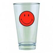 Pahar pentru party Smiley Tumbler Portocaliu/Transparent, 330 ml