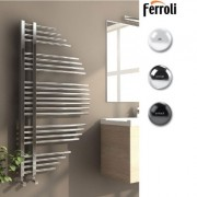 Calorifer portprosop Ferroli Flavia 680/1200 - culoare Antracit. 5 ani garantie