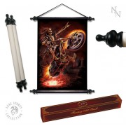 "tekercs ANNE STOKES ""Art Scroll Hell Rider"" - NOW0858"
