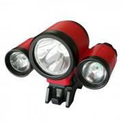 blanco neutro 4-Modo resistente al agua RD nuevo estilo 3-LED de luz LED de bicicletas