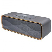 Yoyamo Portable Bluetooth Speakers Wireless Speaker with Super Bass Stereo sound for Smart Phones Tablet PC(Grey)