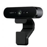 Webcam Logitech BRIO - Ultra HD 4K avec deux microphones omnidirectionnels