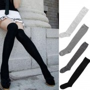 V&V Dámské nadkolenky Louisiana (černá barva) - V&V