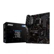 Дънна платка MSI Z390-A PRO, Z390, LGA1151, DDR4, PCI-Е (D-Sub&DP&DVI)(CFX), (CF), 6x SATA 6Gb/s, 1x M.2 sockets, 1x USB 3.1 Type-C, ATX