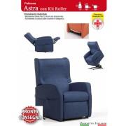 Il Benessere Poltrona Relax Astra con Due Motori Alzapersona e Kit Roller Dispositivo Medico Pronta Consegna Prodotto Italiano