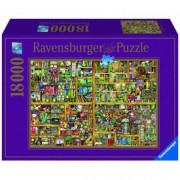 Ravensburger - Colin Thompson: Varázslatos könyves szekrény 18000 darabos puzzle