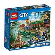 Lego Swamp Police Starter Set, Multi Color