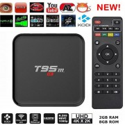2G / 8G Quad Core Box Top Streaming Reproductor Multimedia (US PLUG)