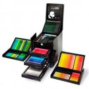 Cutie lemn Faber-Castell Karlbox Art & Graphic, 350 piese