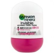 Garnier Minerální antiperspirant pro dlouhotrvající svěžest Roll-on Invisible 50 ml