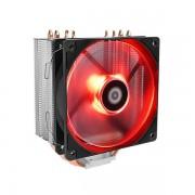 Cooler CPU ID-Cooling SE-224M, LED rosu