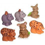Fisher Price Little People Noahs Animals Kangaroos, Hippos, and Leopards- Assortment