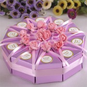 10pcs Creative Cake Candy Box Wedding Party Cake Chocolate Gift Boxes