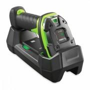 Баркод скенер Zebra LI3678-SR четец, 1D, Bluetooth, стойка, черен