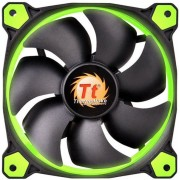 Kit Ventilatoare Thermaltake Riing 12 High Static Pressure, 120mm, 3buc. (Led Verde)