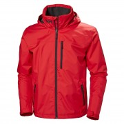 Helly Hansen Mens Crew Hooded Sailing Jacket Red M