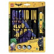 Lego Книга для записей 96 листов линейка с ручка с невидимыми чернилами Бэтгёрл