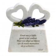 In Memoriam Gedenksteen Liefde, met Gedenkharten