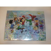 Peanuts Winter Wonderland 500 Piece Springbok Puzzle with Snoopy Woodstock and Charlie Brown & Crew