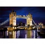 Puzzle D-Toys - Discovering Europe: Tower Bridge, London, 1.000 piese (DToys-65995-DE01)