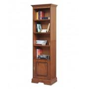Arteferretto Bücherschrank mit Tür bewegliche Bretter