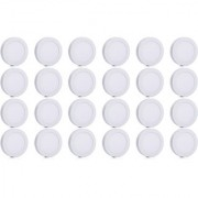 Bene LED 12w Round Surface Panel Ceiling Light Color of LED White (Pack of 24 Pcs)