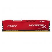 KINGSTON DIMM DDR4 8GB 2666MHz HX426C16FR2/8 HyperX Fury Red