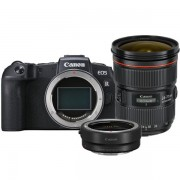 Canon EOS RP Body + EF - RF Mount Adapter + EF 24-70mm F/2.8 L USM II