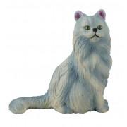 Pisica Persana-sezand S Animal figurina
